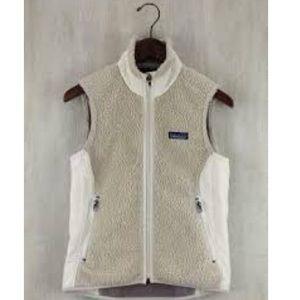 Patagonia Retro X Cream Sherpa Vest
